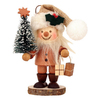 Alexander Taron Wood Santa with Christmas Tree Ornament