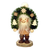 Alexander Taron Wood Santa with Arch Ornament