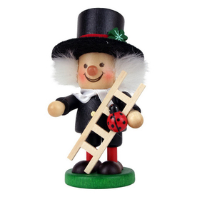 Alexander Taron Wood Chimneysweep Ornament