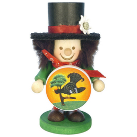 Alexander Taron Wood Marksman Boy Ornament