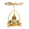 Alexander Taron Wood Church Pyramid Ornament