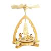 Alexander Taron Wood Children Lantern Pyramid Ornament