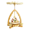 Alexander Taron Wood Singing Angels Pyramid Ornament