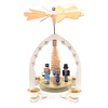 Alexander Taron Wood Nutcracker Suite Pyramid Ornament