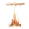Alexander Taron Wood Angels Pyramid Ornament