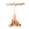 Alexander Taron Tabletop Candle Pyramid Indoor Christmas Decoration