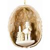 Alexander Taron Wood Nutshell Muscian Ornament