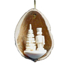 Alexander Taron Wood Nutshell Nutcracker Ornament