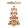 Alexander Taron Wood Nativity 3-Level Pyramid Ornament