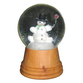Alexander Taron Snow Globe Snowman Indoor Christmas Decoration