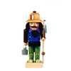 Alexander Taron Wood Fisherman Nutcracker Ornament