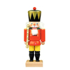 Alexander Taron Wood King Nutcracker Ornament