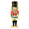 Alexander Taron Wood Drummer Nutcracker Ornament