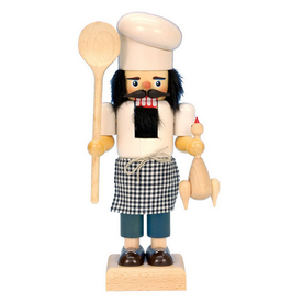 Alexander Taron Wood Cook Nutcracker Ornament