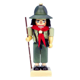 Alexander Taron Wood Scout Nutcracker Ornament