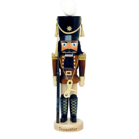 Alexander Taron Wood Soldier Limited Edition 5K Natural Nutcracker Ornament
