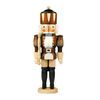 Alexander Taron Wood King Natural Nutcracker Ornament