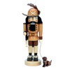 Alexander Taron Wood Forest Ranger Natural Nutcracker Ornament