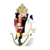 Alexander Taron Wood Rider King Red Nutcracker Ornament
