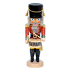 Alexander Taron Wood Musical Red Drummer Stand Nutcracker Ornament