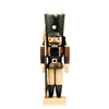 Alexander Taron Wood Soldier Natural Nutcracker Ornament