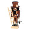 Alexander Taron Wood Chimneysweep Natural Nutcracker Ornament