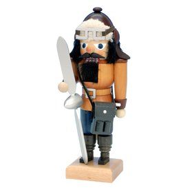Alexander Taron Wood Small Pilot Nutcracker Ornament