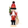 Alexander Taron Wood Santa Claus Nutcracker Ornament