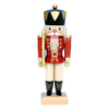Alexander Taron Wood Red King Nutcracker Ornament
