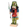 Alexander Taron Wood Fisherman Small Nutcracker Ornament