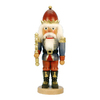 Alexander Taron Wood Blue King Nutcracker Ornament