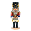 Alexander Taron Wood Drummer Soldier Nutcracker Ornament