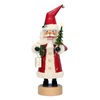 Alexander Taron Wood Red Santa Nutcracker Ornament