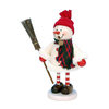 Alexander Taron Wood Snowman Smoker Ornament