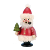 Alexander Taron Wood Red Santa Smoker Ornament