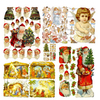 Alexander Taron Christmas Art Pages with Glitter Ornament