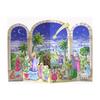 Alexander Taron Bethlehem Scene Advent Calendar Ornament