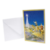 Alexander Taron 3-Wisemen Small Advent Card Ornament