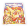 Alexander Taron Small Nativity Text Advent Calendar Ornament