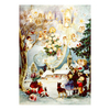 Alexander Taron Children with Angels Advent Calendar Ornament