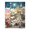 Alexander Taron Santa and Sleigh Large Advent Calendar Ornament