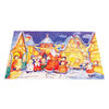 Alexander Taron Santa with Children Small Advent Calendar Ornament