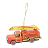 Alexander Taron Metal Fire Engine Ornament