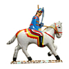 Alexander Taron Metal Soldier and Horse Ornament