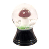 Alexander Taron Glass Mini Mushroom Snow Globe Ornament