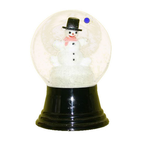 Alexander Taron Tabletop Snow Globe Indoor Christmas Decoration