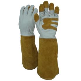 Blue Hawk One-Size-Fits-All Unisex Leather Palm Multipurpose Gloves