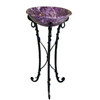 Yosemite Home Decor 31-in H Stone Products Bronze Iron Pedestal Sink Base