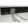 Kobalt 50-in L x 4-in H Black Plastic Pre-Drilled Storage Rails