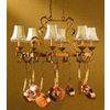 Classic Lighting 40-in x 24-in Copper-Bronze Hue Pot Rack